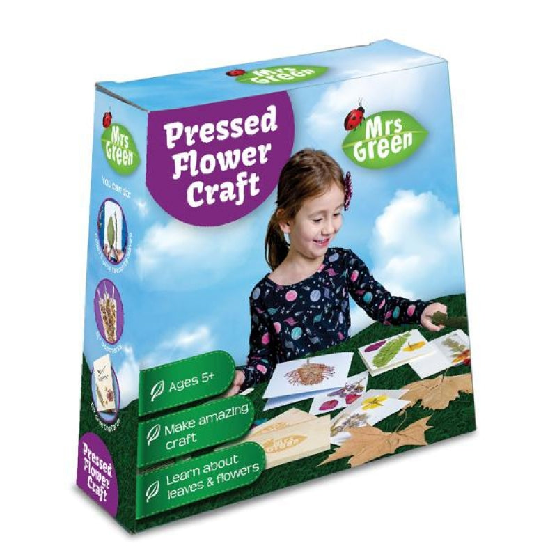 Pressed Flower Craft - STEAM Kids Brisbane