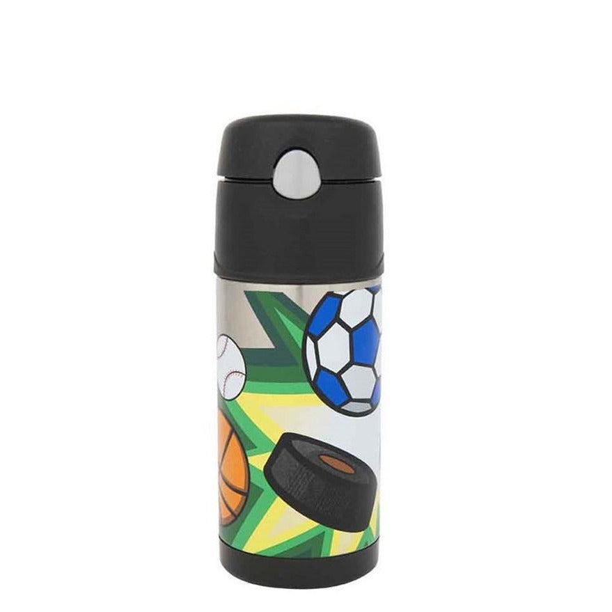 Thermos Funtainer 355ml Isulated Bottle Multi Sports - STEAM Kids Brisbane