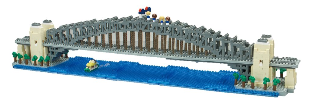 Nanoblock Sydney Harbour Bridge Deluxe Edition - STEAM Kids Brisbane