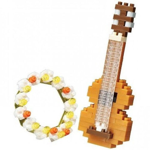 Nanoblock Ukulele & Flower Crown - Flying Fox Shop Brisbane