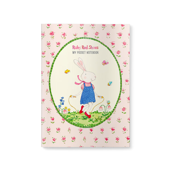 Ruby Red Shoes Pocket Notebook - Skipping - STEAM Kids Brisbane