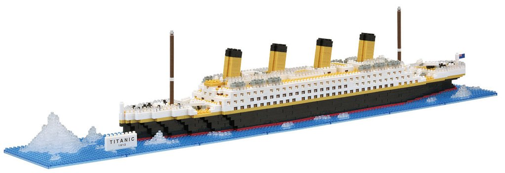 Nanoblock Titanic Deluxe - STEAM Kids Brisbane