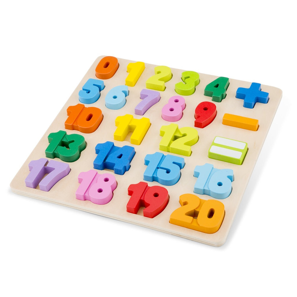 Number Puzzle by New Classic Toys - STEAM Kids Brisbane