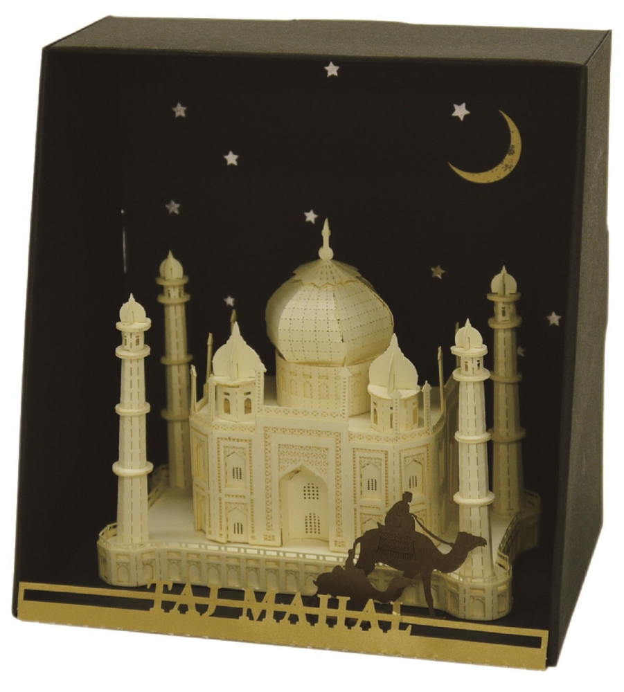 Paper Nano Taj Mahal Building Kit - STEAM Kids Brisbane
