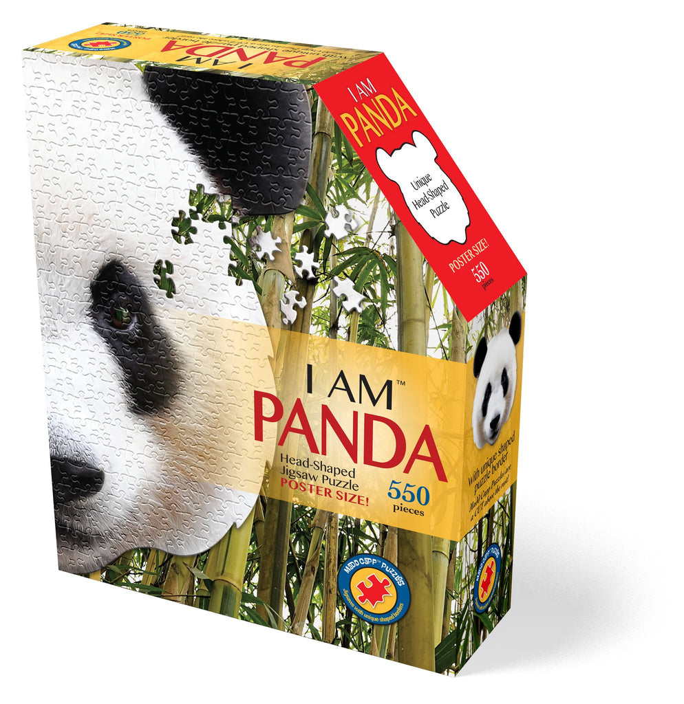 Madd Capp I am Panda 550 piece Shaped Puzzle - STEAM Kids Brisbane