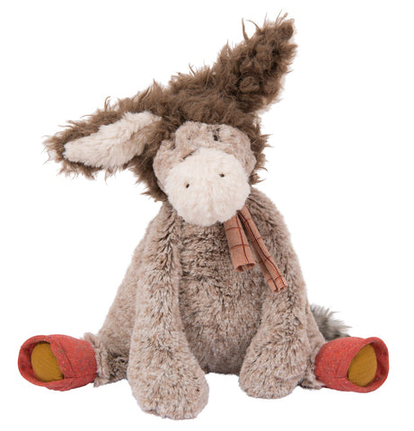 Moulin Roty Large Plush Jojo the Donkey - STEAM Kids Brisbane