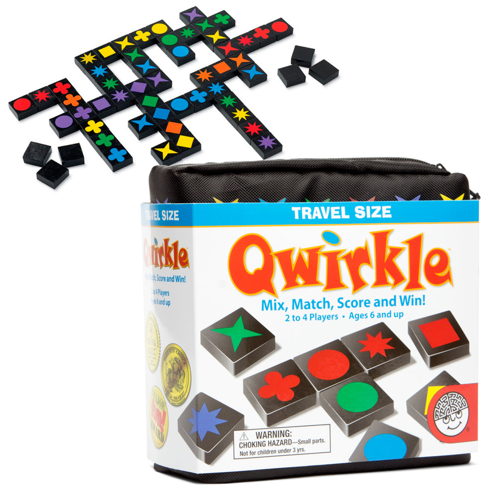 Qwirkle Game Travel Size - STEAM Kids Brisbane