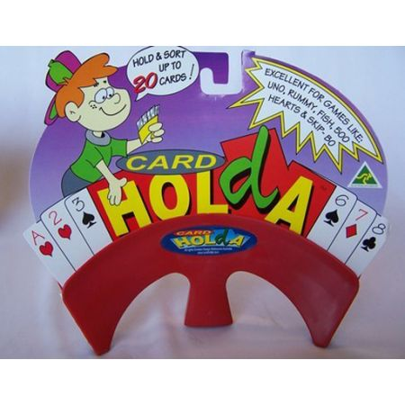 Card Holda (Red) - STEAM Kids Brisbane