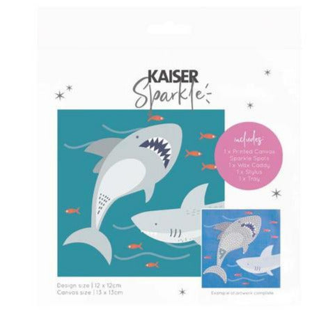 Kaiser Sparkle Kids Kit - Sharks - STEAM Kids