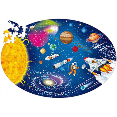 Sassi Travel Learn and Explore Space Book and Puzzle - STEAM Kids Brisbane