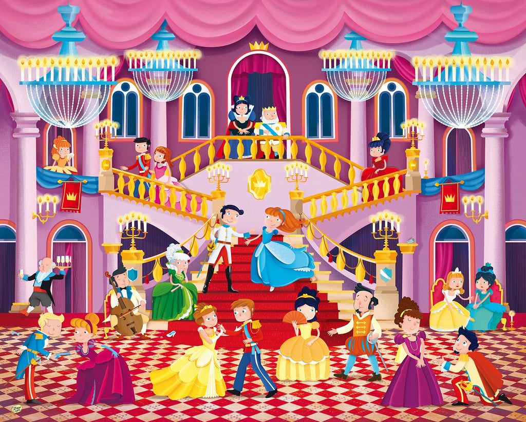 Sassi The Princess Ball Giant Puzzle, 30pcs - STEAM Kids Brisbane