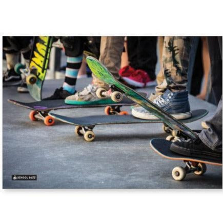 Harper Bee | School Buzz|  A4 Bookcover | Skate Squad | - STEAM Kids Brisbane