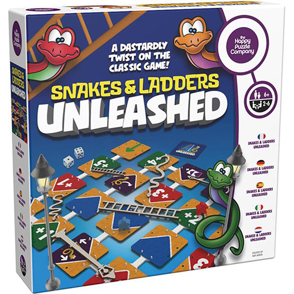 Snakes and Ladders Unleashed | Happy Puzzle Company| - STEAM Kids Brisbane