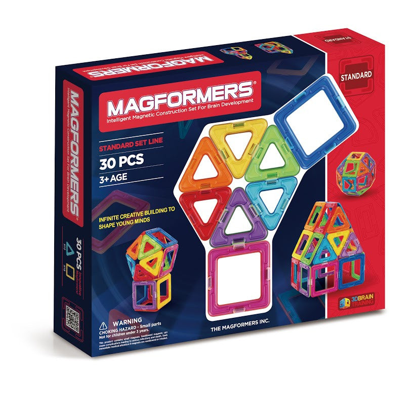Magformers  30 Piece Standard Line Set - STEAM Kids Brisbane