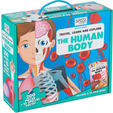 Sassi Travel Learn and Explore the Human Body Book and Puzzle - Flying Fox Shop Brisbane