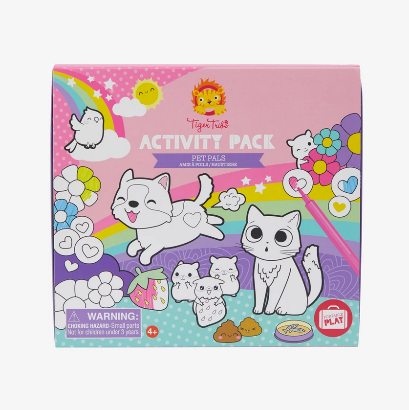 Colouring Activity Pack - Pet Pals - STEAM Kids Brisbane