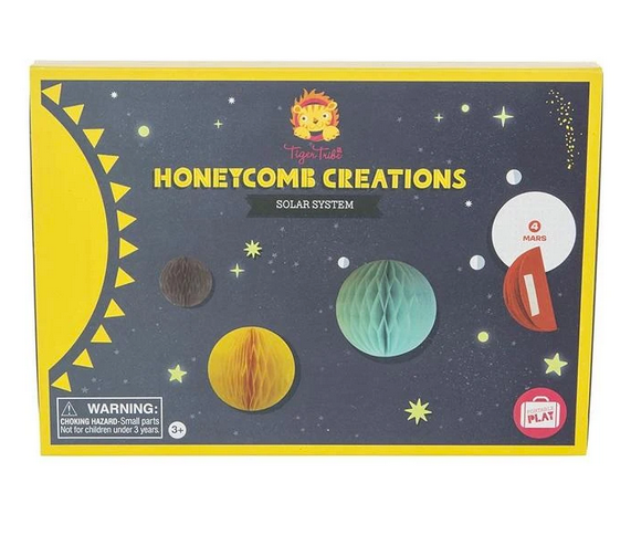 Honeycomb Creations Solar System | Tiger Tribe - STEAM Kids