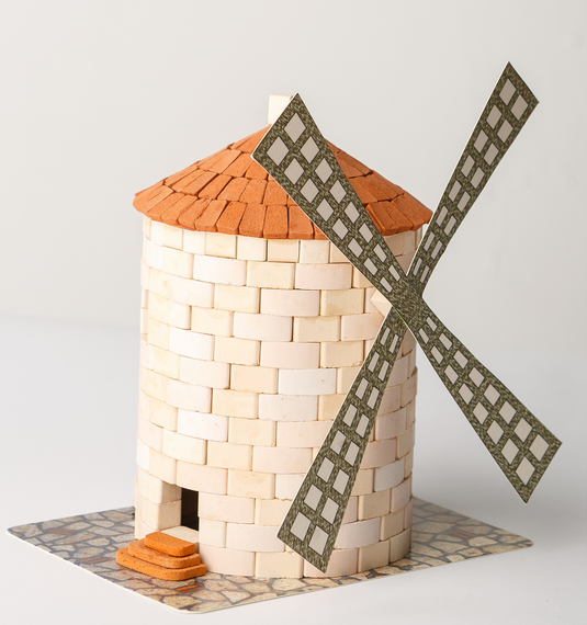Wise Elk Mini Bricks Windmill - STEAM Kids