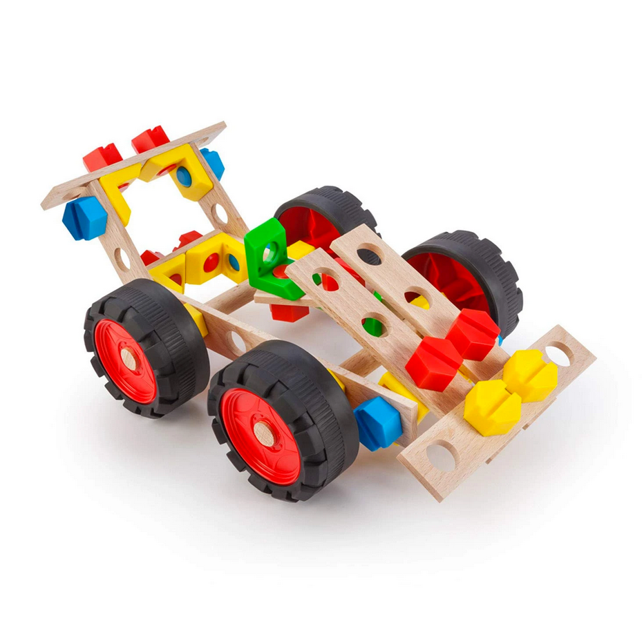 Race Car Set - Wooden Construction by Alexander - STEAM Kids