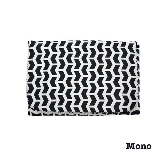 Jellystone Designs 2 in 1 Nappy Change Mat Clutch Mono - STEAM Kids