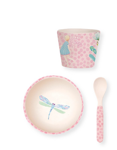 Love Mae Bamboo Baby Feeding Set Fairy - STEAM Kids Brisbane