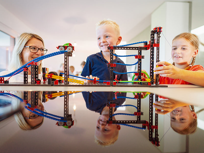 Fischertechnik Funny Machines - STEAM Kids Brisbane