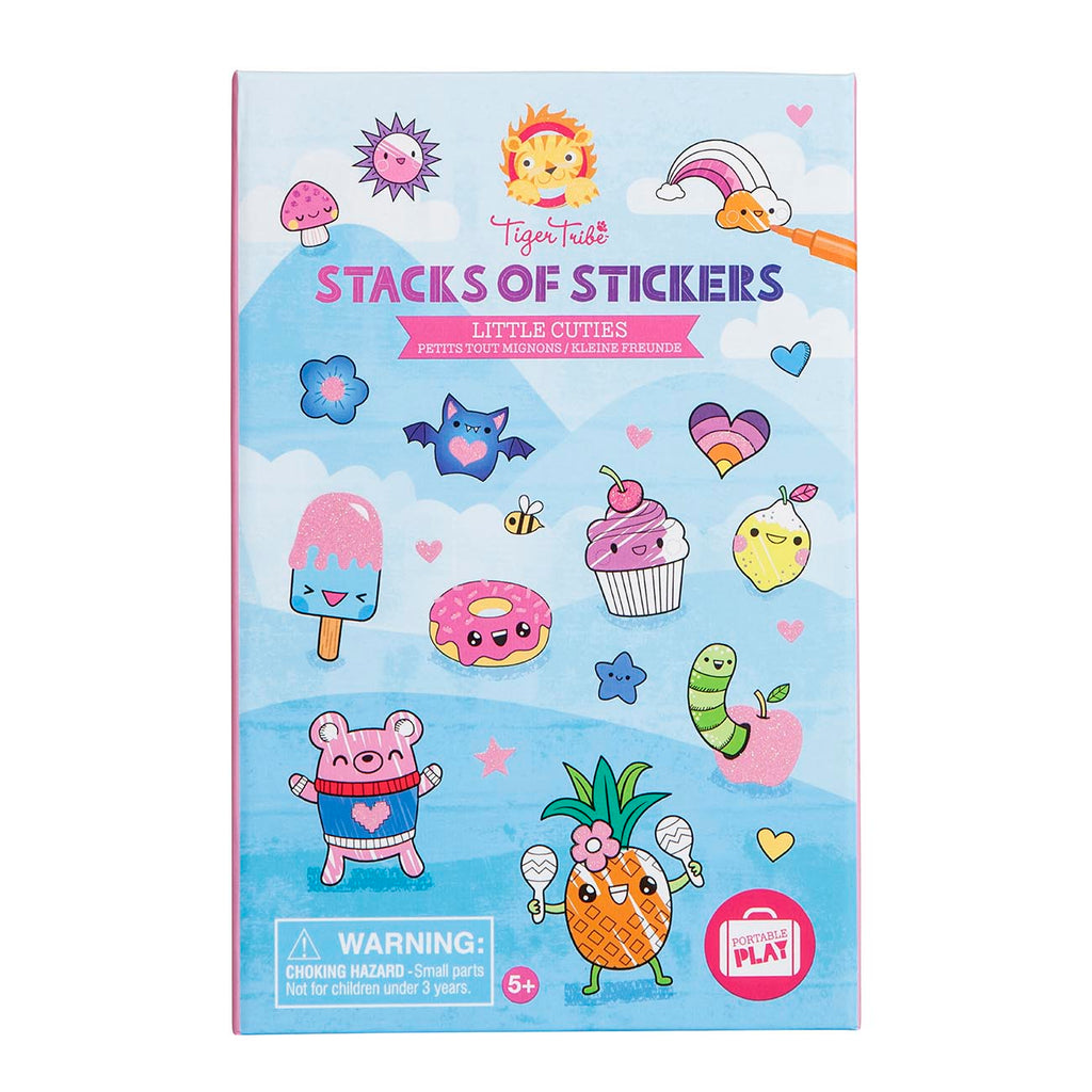 Tiger Tribe Little Cuties Stacks of Stickers - STEAM Kids Brisbane