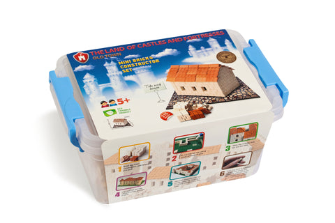 Wise Elk Mini Bricks Tile Roof House - STEAM Kids Brisbane