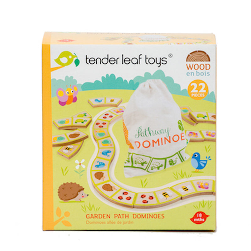 Tender Leaf Toys - Garden Path Dominoes - STEAM Kids