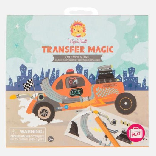 Tiger Tribe Transfer Magic: Create a Car - STEAM Kids Brisbane
