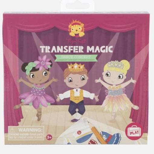 Tiger Tribe Transfer Magic: Dance Concert - STEAM Kids Brisbane