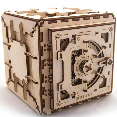 UGEARS Mechanical Safe - Flying Fox Shop Brisbane
