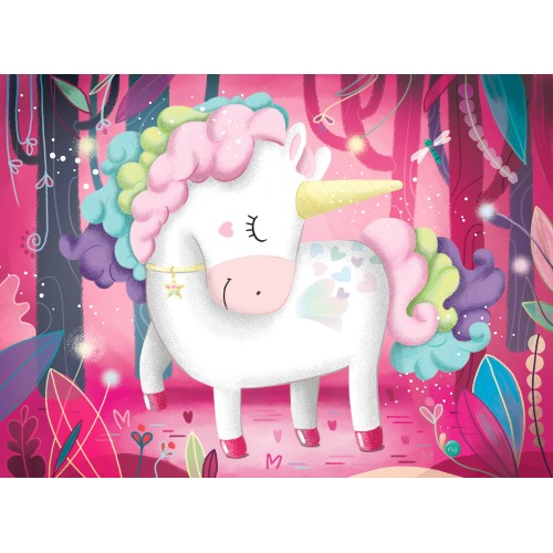 Sassi Unicorn Giant Puzzle, 30pcs - STEAM Kids Brisbane