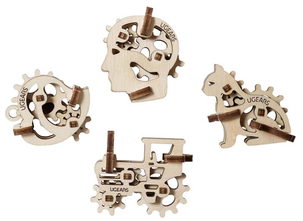 UGEARS U-Fidget Tribka Trinkets - STEAM Kids Brisbane