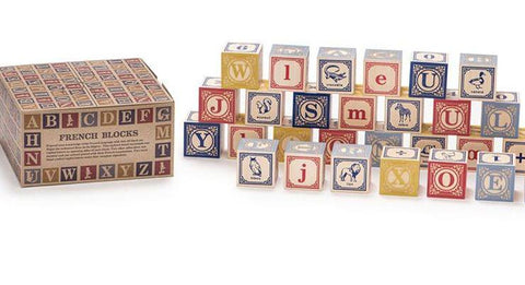 Uncle Goose French Blocks 28 Pieces - STEAM Kids Brisbane