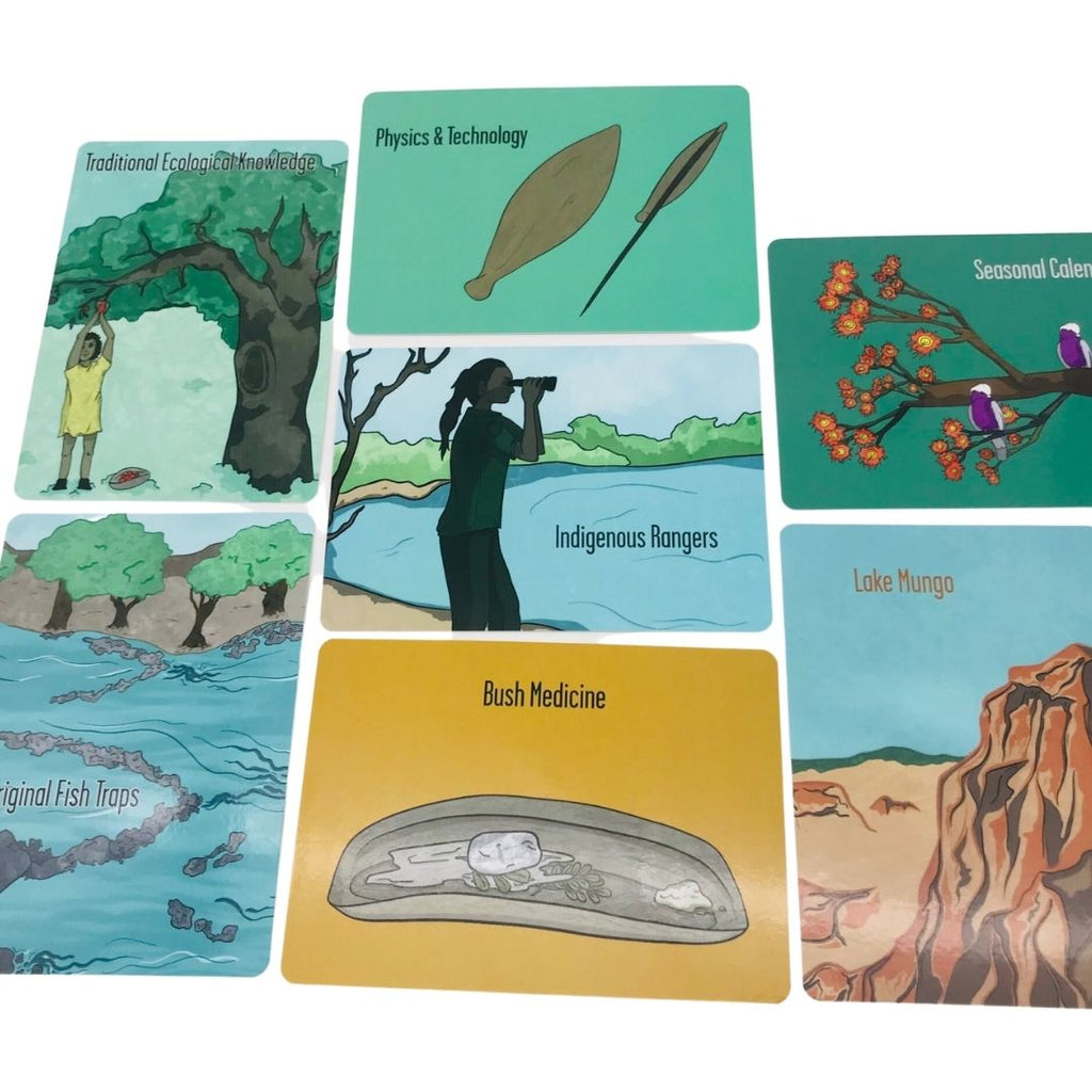 Aboriginal Science Topic Cards | Riley Callie Resources - STEAM Kids