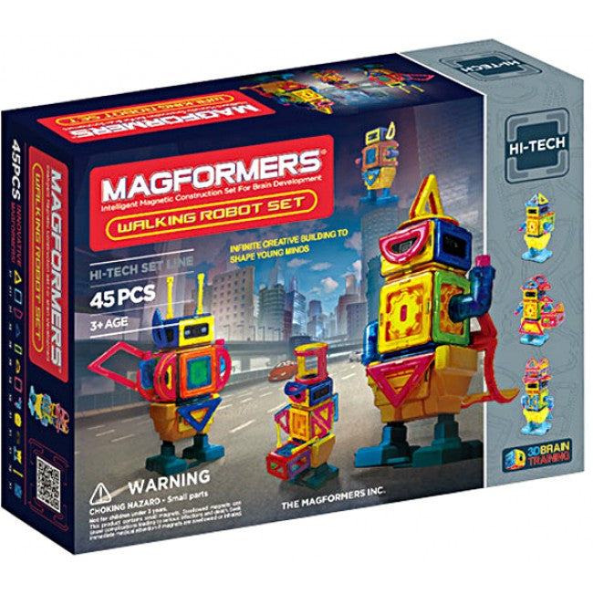 Magformers Walking Robot 45 pcs - STEAM Kids Brisbane