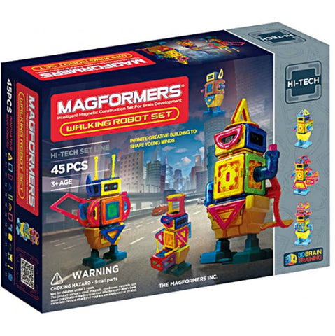 Magformers Walking Robot 45 pcs