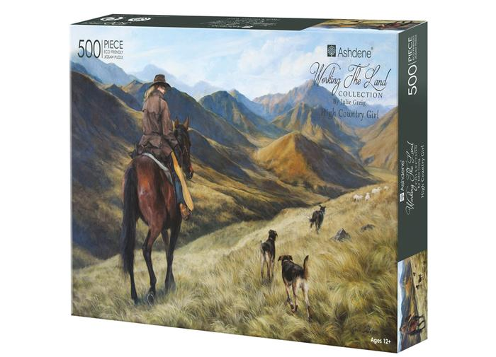 Working the Land High Country 500 Piece Puzzle | Ashdene Eco Puzzle - STEAM Kids Brisbane