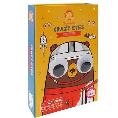 Tiger Tribe Crazy Eyes Creatures Colouring Kit - STEAM Kids Brisbane