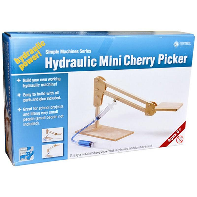 Hydraulic Mini Cherry Picker by Pathfinders - STEAM Kids Brisbane