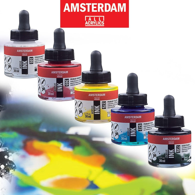 Amsterdam Acrylic Ink 30ml - STEAM Kids Brisbane