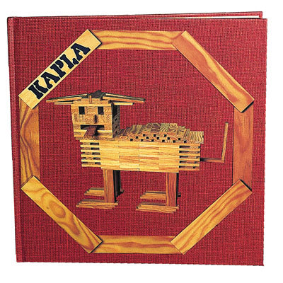 Red Kapla Art Book - STEAM Kids Brisbane