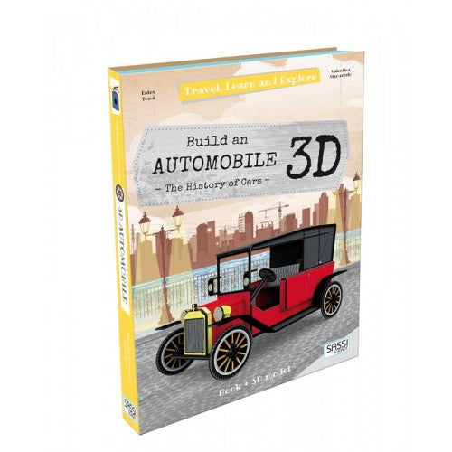 Sassi Travel, Learn and Explore 3D - Build a 3D Automobile - STEAM Kids Brisbane