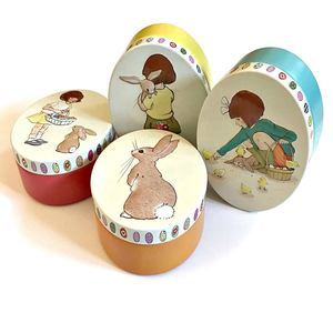 Belle & Boo Easter Tin - Orange - STEAM Kids Brisbane