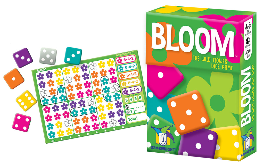 Bloom Wild Flower Dice Game - STEAM Kids