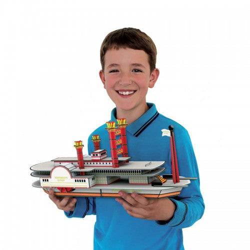 Sassi Travel, Learn and Explore 3D - Build a 3D Boat - STEAM Kids Brisbane