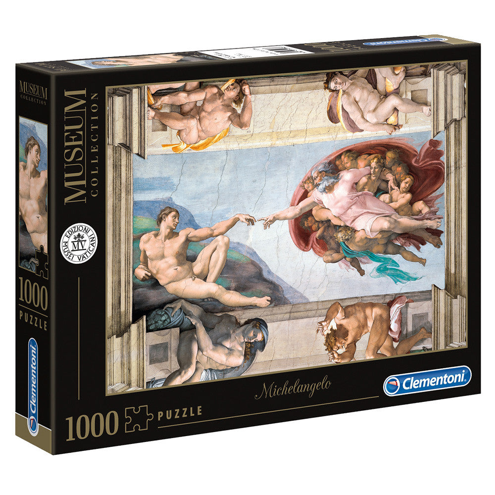 Clementoni Creation of Man 1000 piece puzzle - STEAM Kids Brisbane