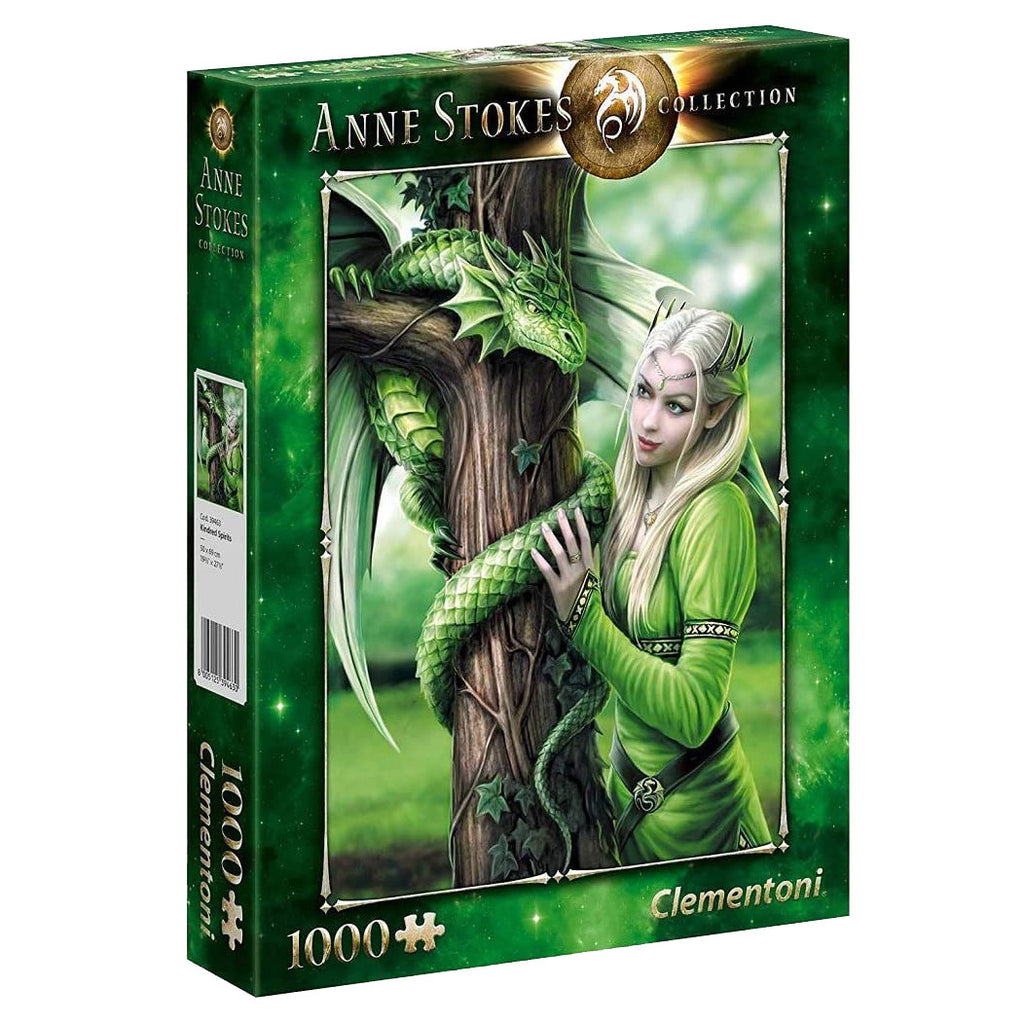 Clementoni Kindred Spirits Anne Stokes 1000 Piece Puzzle - STEAM Kids Brisbane