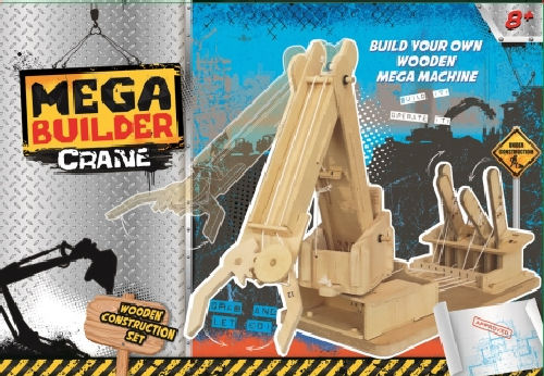 Mega Builder Crane Kit - STEAM Kids Brisbane